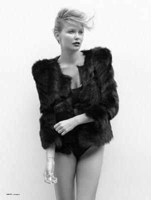 Lara Bingle x Oyster Magazine x Fur