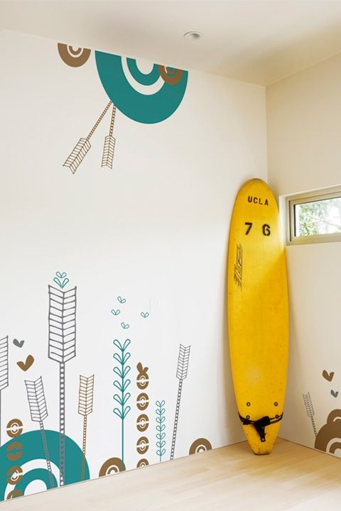 BLIK wall decals - Happy Accident by SCAD. I have this set in my kitchen and love it so much. Will be buying another set for my next house in fact!