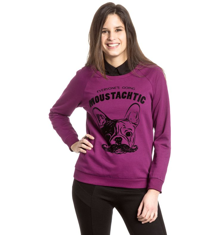 Sklep internetowy C&A | Bluza, kolor:  fioletowy 19,90zl