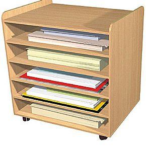 A1 Mobile Paper Storage Unit