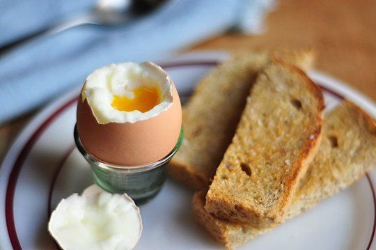 The perfect soft-boiled egg should have firm, custard-like whites and a warm runny yolk. This is a slightly trickier endeavor than simply hard-boiling eggs, but nothing that can't be mastered in the space of a Saturday morning!   Here's our best recipe and step-by-step guide for soft-boiled eggs. What's yours?