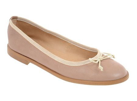 Tosoni at #Spitz - Ballerina with Multi Topline & Bow - Women's Shoes #SS14