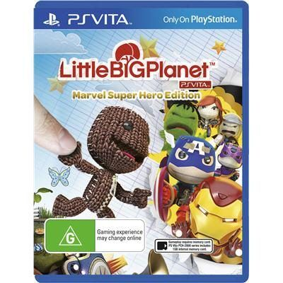 [JB Hi-Fi] Little Big Planet Marvel Super Hero Edition on PSV (Aus. Import) - $29AUD http://www.lavahotdeals.com/ca/cheap/jb-fi-big-planet-marvel-super-hero-edition/71486