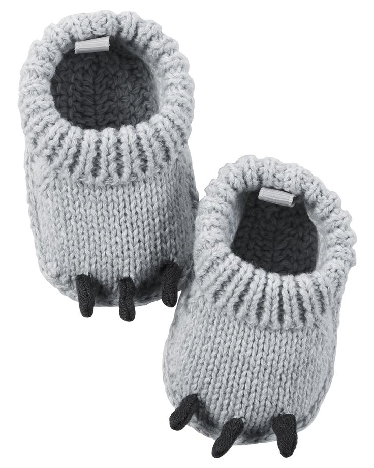Baby Boy Monster Crocheted Booties | Carters.com