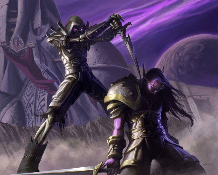 #wowtcg #warcraft #elfe #elf #undead #warrior #guerrier #rogue #voleur