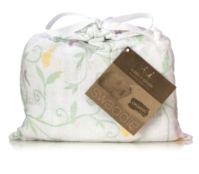 Aden+Anais organic easy swaddle. Moda Sostenible. Organic Baby Products