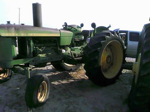 John Deere Tractor Salvage Yards : John deere tractor salvaged for used parts call