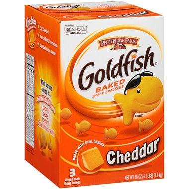 Pepperidge Farm Goldfish Cheddar Baked Snack Crackers (66 oz.)