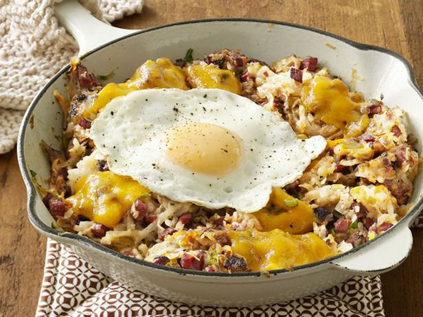 Corned Beef Hash. One of my favorite breakfast dishes. Recipe courtesy of Alton Brown and Foodnetwork.com