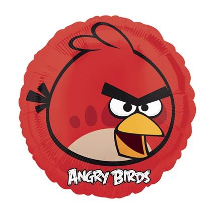 #globometalico #fiestaAngryBirds #kitfiesta  http://www.kitfiesta.com/fiestas-ninos/angry-birds/angry-birds-globo-metalico-rojo