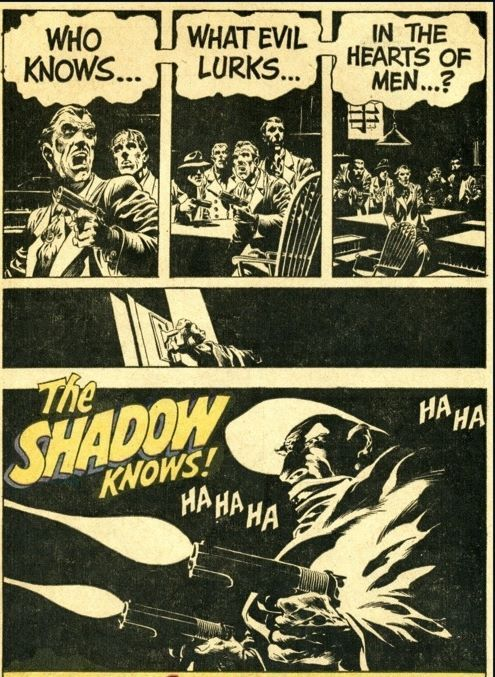 Wrightson The Shadow