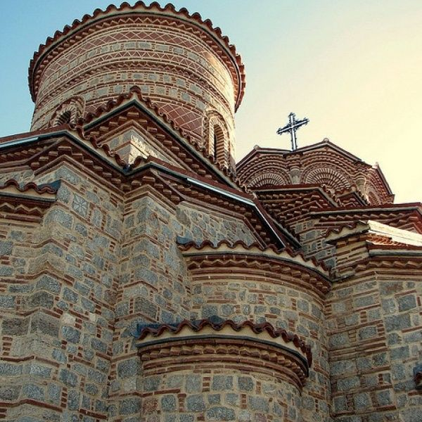 Saint Panteleimon is a monastery in Ohrid