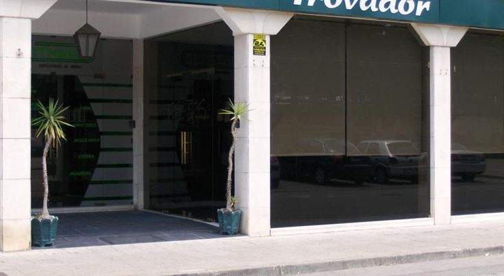 Hotel Trovador Tomar Located in historic Tomar, with the bus and train stations at its doorstep, this guesthouse offers a traditional feel.  All rooms are air conditioned and fitted with a private bathroom offering bathrobes.