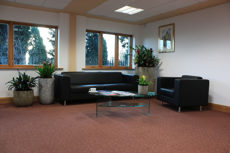 Reception area at Carrwood Park