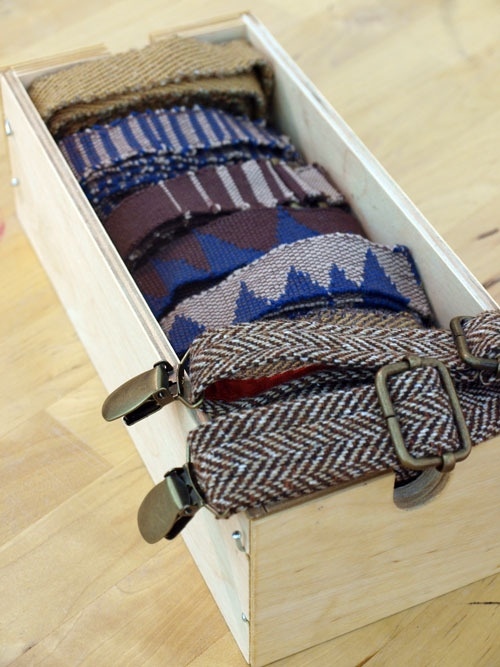 Herringbone Suspenders - I've never worn suspenders, but I would start if I had these!
