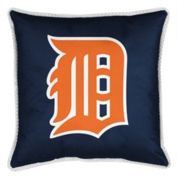 Detroit Tigers Decorative Pillow