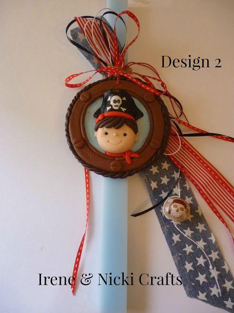 Irene & Nicki Crafts:       Polymer Clay Pirate Design 2Hi everyo...