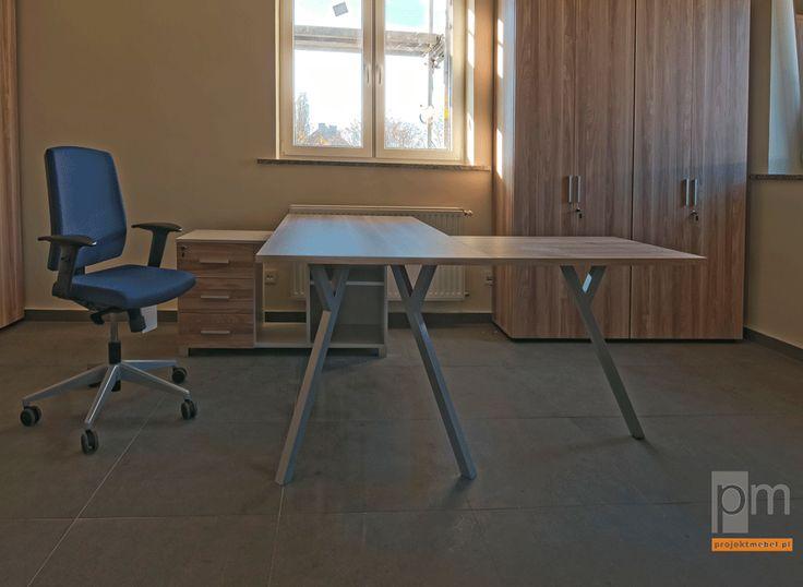 Meble biurowe X100 więcej zdjęć na http://www.projektmebel.pl/x-100
