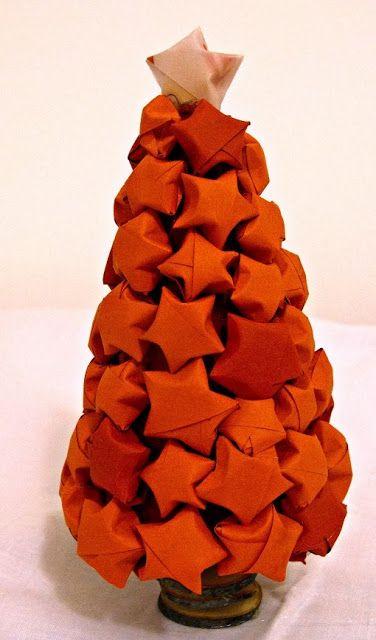 Piccole stelle in origami. -Primo tutorial-by La Casa di Tania