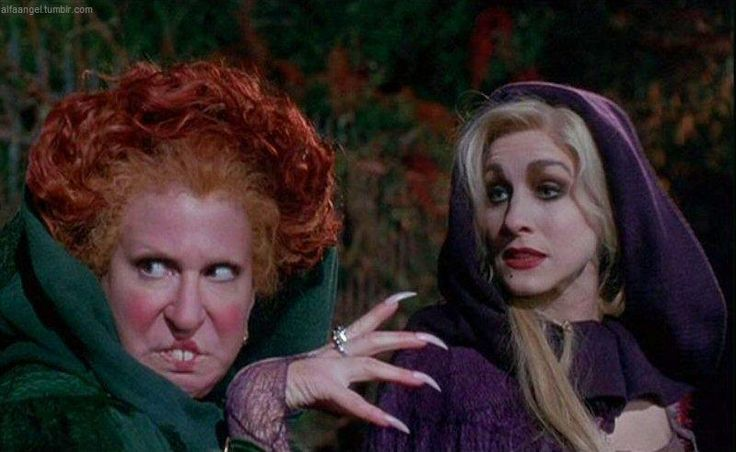 Winifred and Sarah Sanderson - Hocus Pocus