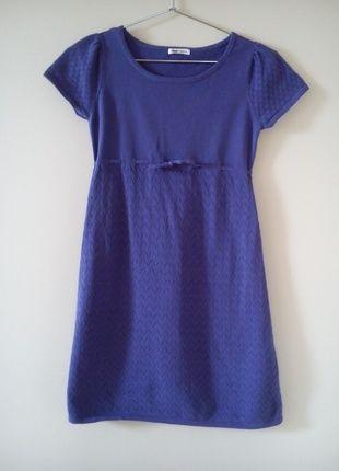 Kup mój przedmiot na #vintedpl http://www.vinted.pl/damska-odziez/inne/10132075-urocza-fioletowa-sukienka-dziewczeca-hm