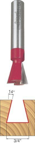 Freud 22134 34Inch Diameter 14Degree Dovetail Router Bit with 12Inch Shank Style 34Inch Diameter 14Degree Dovetail Router Bit with 12Inch Shank Model 22134 ** Check out the image by visiting the gardening link.