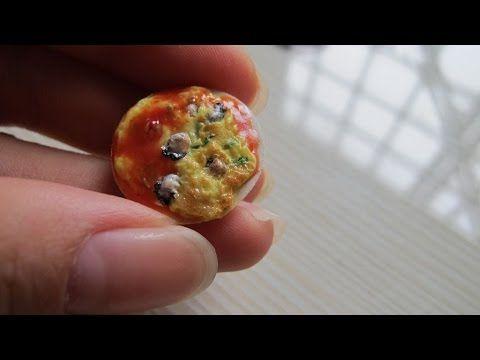 【MS.狂想】Taiwan Food蚵仔煎/Miniature Food-袖珍黏土 - YouTube