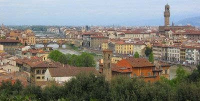 Slow Travel Italy - Florence Shopping Notes, leather, ceramics, scarves, wine