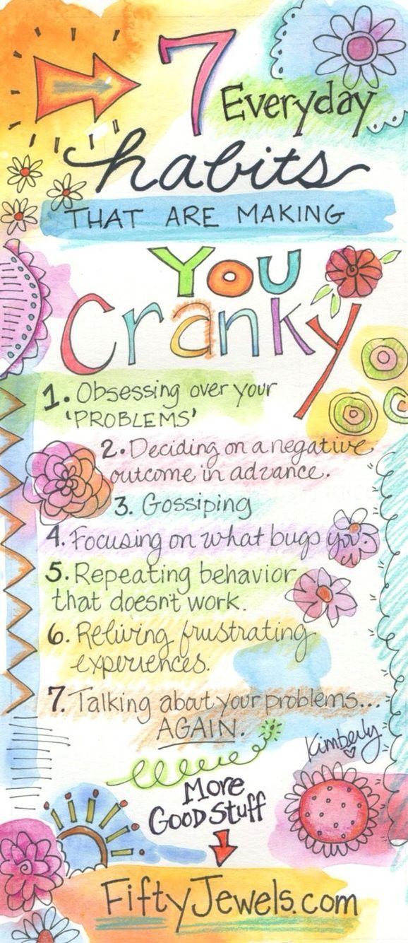 Stop being cranky!!