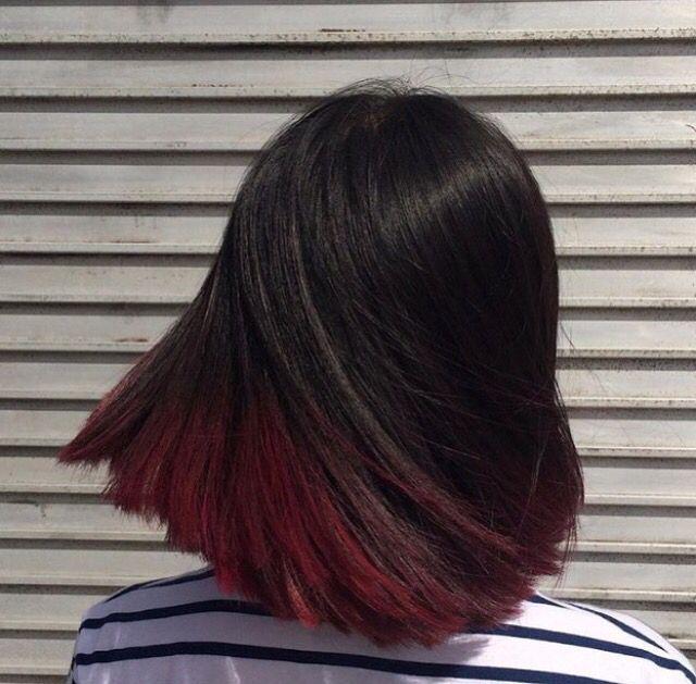 Best 25+ Short Burgundy Hair Ideas On Pinterest