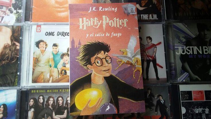 Harry Potter y el cáliz de fuego (J.K Rowling):