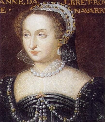 Château de BEAUREGARD Le château au 334 portraits, Jeanne d'Albret, reine de…