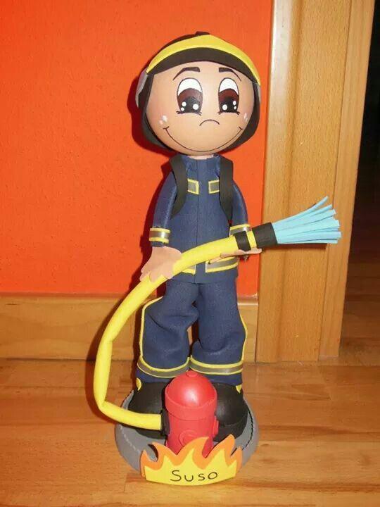 Fofucho bombero