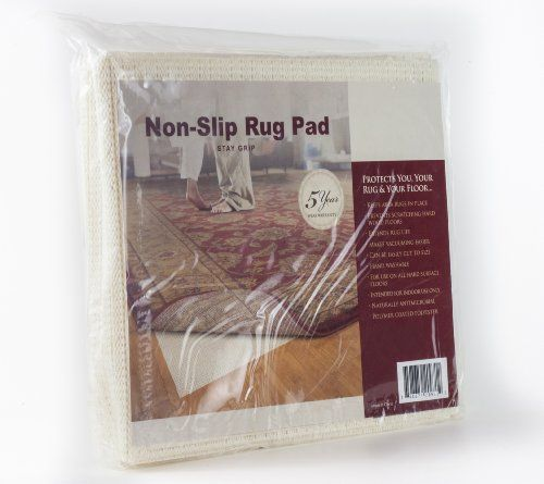 Stay Grip Non-skid Area Rug Pad for 8-Feet Round Rug Gran...