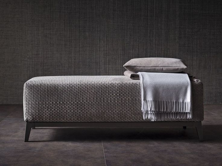 OLIVIER Bench Olivier Collection by Flou design Mario Dell'Orto, Emanuela Garbin