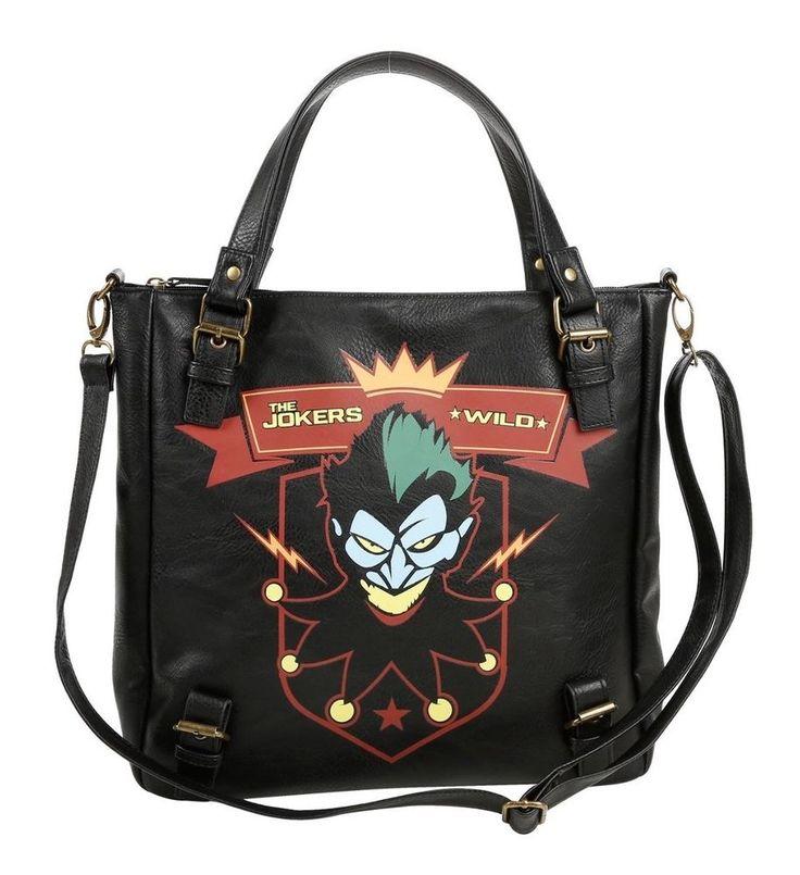 Harley Quinn Tote Bag Purse Joker Bombshells NEW