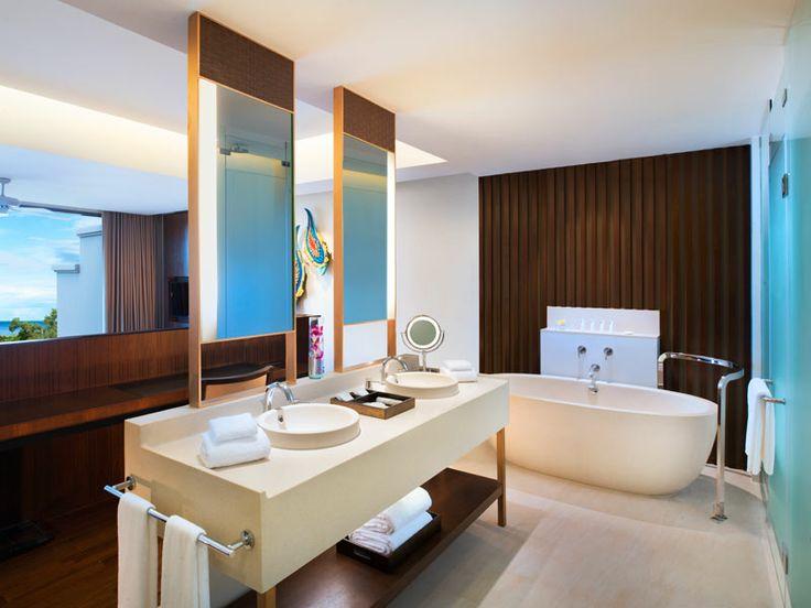 Pool Suite bathroom at Vana Belle, Thailand  www.islandescapes.com.au
