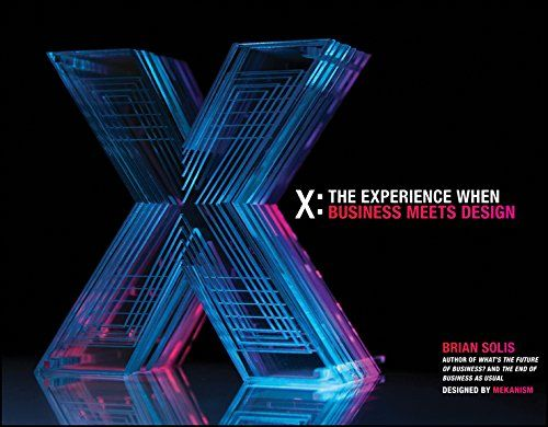 Roy picked up X: The Experience When Business Meets Design