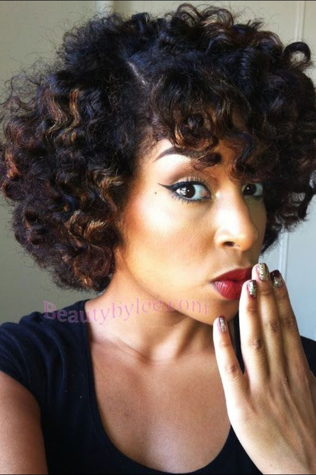 Awe Inspiring 1000 Images About Natural Kinky Curly Hairstyles On Pinterest Hairstyles For Women Draintrainus