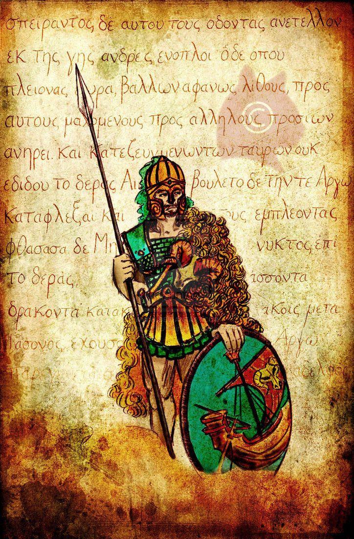 Jason and the Golden Fleece by WarriorofDestiny on deviantART. Tags: jason, argonauts,