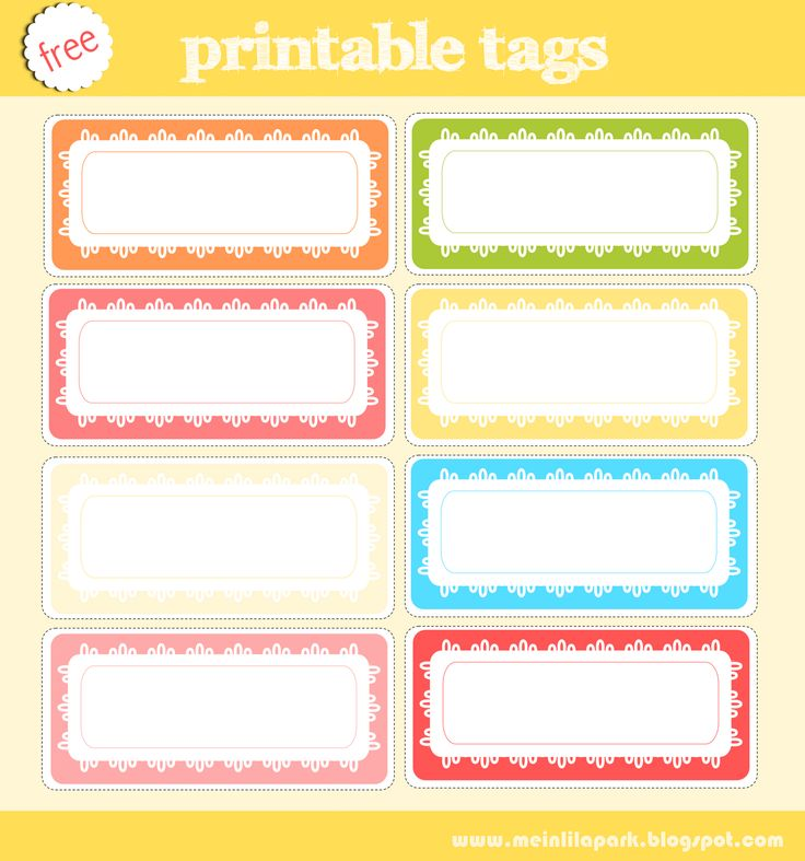 187 best images about Printable Tags & Labels on Pinterest