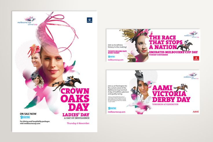 Melbourne Cup Carnival, press advertisements – Advertising Associates