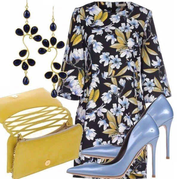 Ricorda una donna di classe che ammira anche le mode oltre oceano. Il Giappone è la mia fonte di ispirazione in questo caso. Le fantasie floreali composte ed i colori decisi. Pochi gli elementi: quattro. Quattro must se ti piace questo stile.