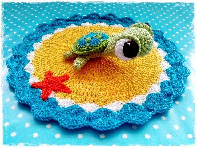 Oltre 1000 idee su Crochet Turtle Pattern su Pinterest ...