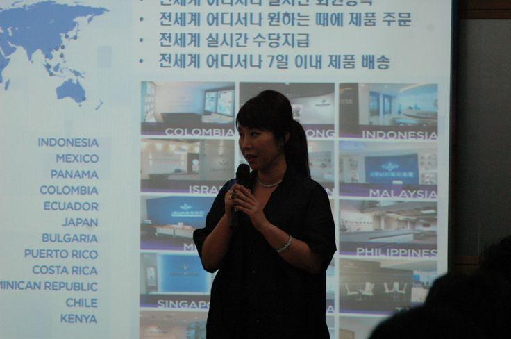 Jeunesse Global Korea Busan Center - Sophia Lee Korea director
