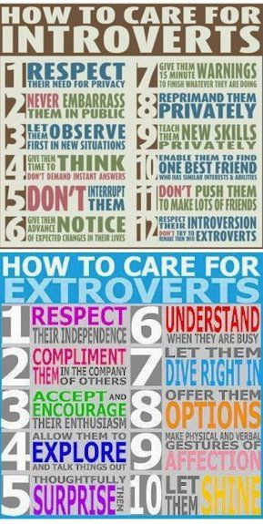 How To Care For Introverts... My former supervisor could have used this!