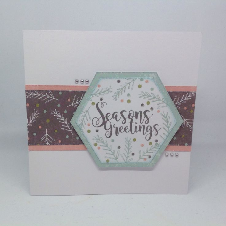 Card designed by Julie Hickey  using Peppermint Forest Collection