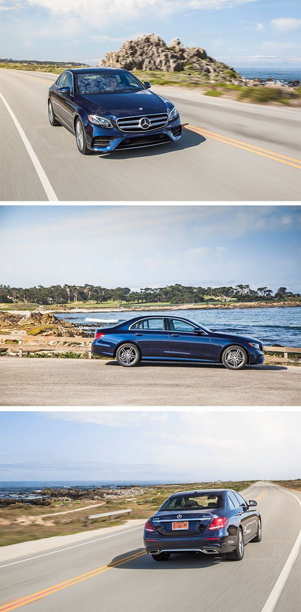 The Mercedes-Benz E-Class is sporty and stylish, with a twist of sophistication. #MBphotopass [Mercedes-Benz E 300 | combined fuel consumption: 6.9–6.3 l/100km |combined CO₂ emissions: 156–144 g/km | http://mb4.me/efficiency_statement]