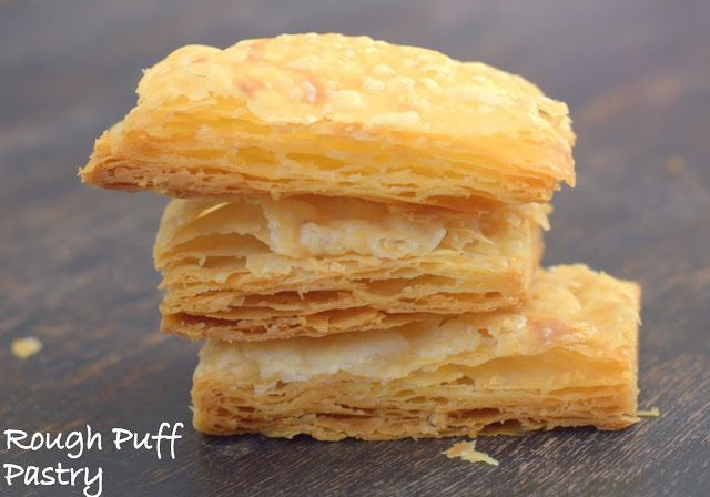Cakes And More!: The Easiest Rough Puff Pastry!  For Beginners