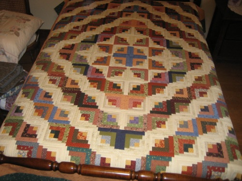 Curved Log Cabin Quilt November Meeting Saturday